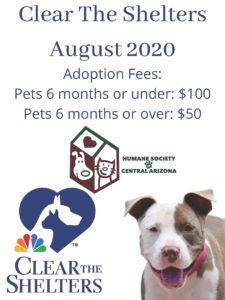 CTS August 2020 dog poster